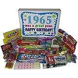 1965 50th Birthday Gift Basket Box Retro Nostalgic Candy From Childhood