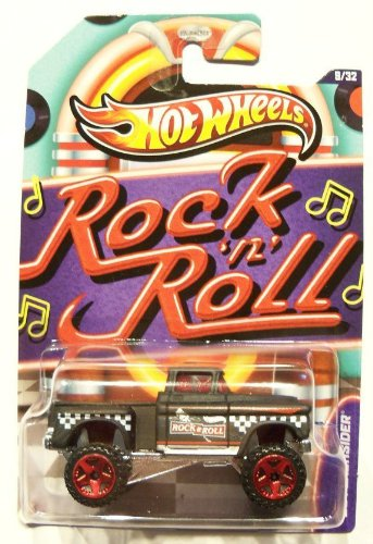 Hot Wheels Jukebox Rock N' Roll '56 Flashsider Black #09/32