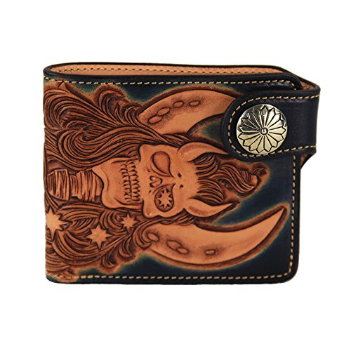 lengren-senior-handmade-short-folding-wallet-carved-with-skeleton-pattern-genuine-italian-full-grain