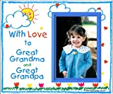 With Love to Great Grandma & Great Grandpa Picture Frame Gift