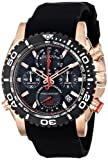 Picture Of Bulova Men's 98B211 Analog Display Japanese Quartz Black Watch