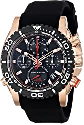 Bulova Men's 98B211 Analog Display Japanese Quartz Black Watch