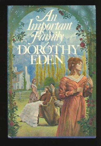 An Important Family, DOROTHY EDEN