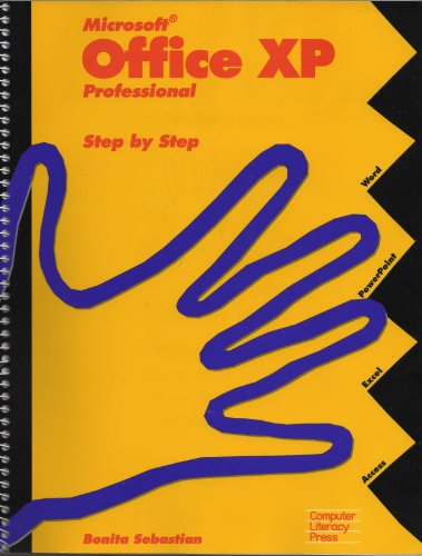 Microsoft Office XP Professional: Step by step