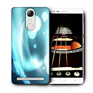 Snoogg Light Bubbles Pattern Design Printed Protective Phone Back Case Cover For Lenovo K5 Note