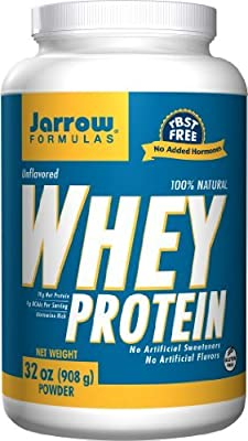 Jarrow Formulas Whey Protein, Natural (4 Pounds)
