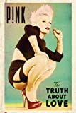 Laminated Music Maxi Poster featuring Art Work from P!nk's Album 'The Truth About Love' 61x91.5cm