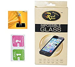 ROYAL MOBISOL Impossible Tempered Screen Guard for Microsoft Lumia 535