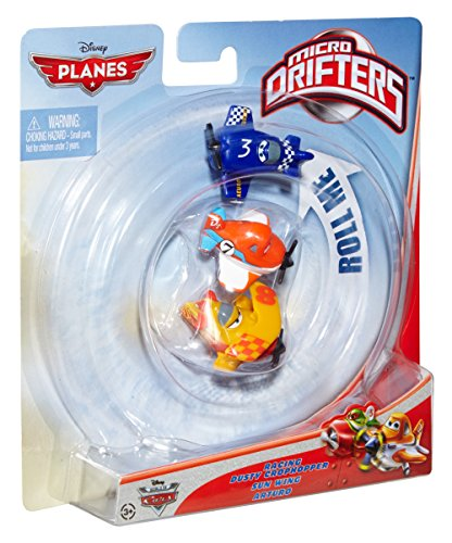 Disney Planes Micro Drifters Dusty Crophopper, Sun Wing and Arturo Vehicle 3-Pack