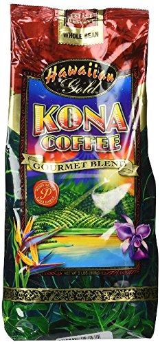 Hawaiian Gold Kona Coffee - 2 Lb Bag of Gourmet Coffee Beans by Unknown