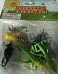 Backyard Creatures - 5 pack of creatures