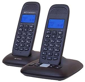 Emerson EM7120-2 Dect_6.0 2-Handset 4-Line Landline Telephone,