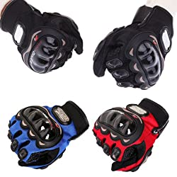 Delhi Traderss Pro biker Gloves - Bike / Motorcycle / Cycle Riding Gloves Biker Gloves
