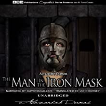 The Man in the Iron Mask Audiobook by Alexandre Dumas Narrated by David McCallion