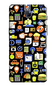 Tamah Back Cover For One Plus 3 (Multicolor)