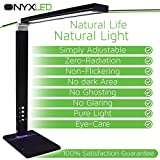 ONYXLED-LS1048-14W-Adjustable-LED-Touch-Desk-Lamp-with-3-Color-Temperatures-5-Level-Touch-Dimmer-USB-Charging-Port-Piano-Black