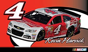 Buy #4 Kevin Harvick 3x5 Flag by R2