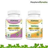 Garcinia Cambogia (HCA >60%) + Triphala - Weight Loss Supplement - 500mg Extract - 60 Veg Capsules