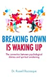 img - for Breaking Down is Waking up: The connection between psychological distress and spiritual awakening book / textbook / text book