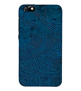 Ebby Premium Printed Back Case Cover With Full protection For Honor 4X (Designer Case)