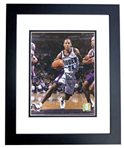 Ray Allen Autographed Hand Signed Milwaukee Bucks 8x10 Photo - BLACK CUSTOM FRAME by Real Deal Memorabilia