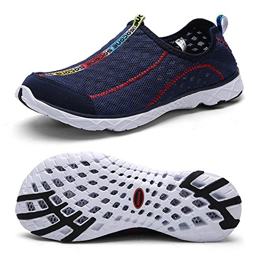 56b28f380b632a FEETMAT Women s Breathable Mesh Slip On Walking Casual Water - Import It All