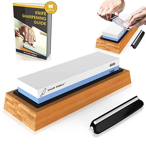 Premium Knife Sharpening Stone Two sided Grit 1000/6000