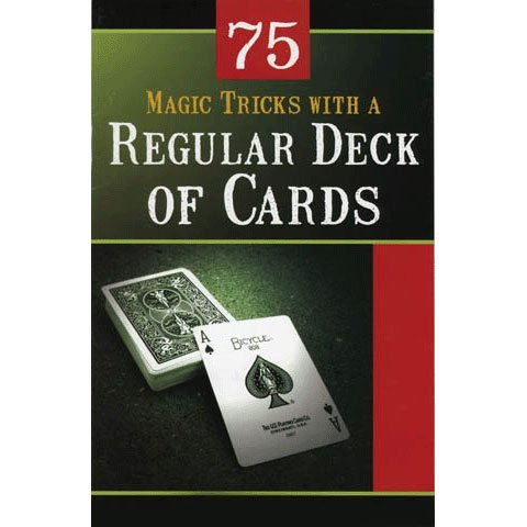 Card Tricks With Regular Deck Book Magic Book (1 per package) - 1
