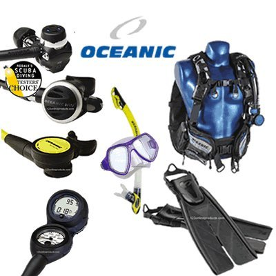 Oceanic DiveTravel Isla BCD, Delta 4 Reg Gear Package sourcing is Oceanic