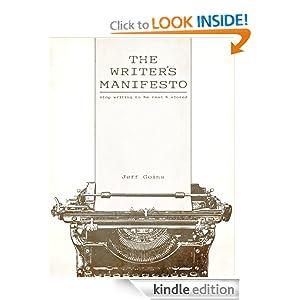 The Writer's Manifesto