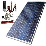 Sunforce 39810 80-Watt High-Efficiency Polycrystalline Solar Panel with Sharp Module:Sunforce 39810 80-Watt High-Efficiency Polycrystalline Solar Panel with Sharp Module