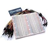 microtivity IB751 750-point Experiment Breadboard w/ Jumper Wires