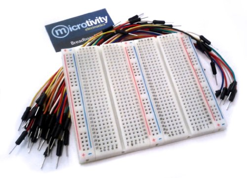microtivity IB751 750-point Experiment Breadboard w/ Jumper Wires