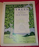 Trees (Womens Voices, 2 Parts, with Piano. For Two-part Chorus or Treble Voices with Piano Accompaniment. Soprano, Alto, Piano) (G. Schirmers Secular Choruses for Treble Voices. No. 7497)
