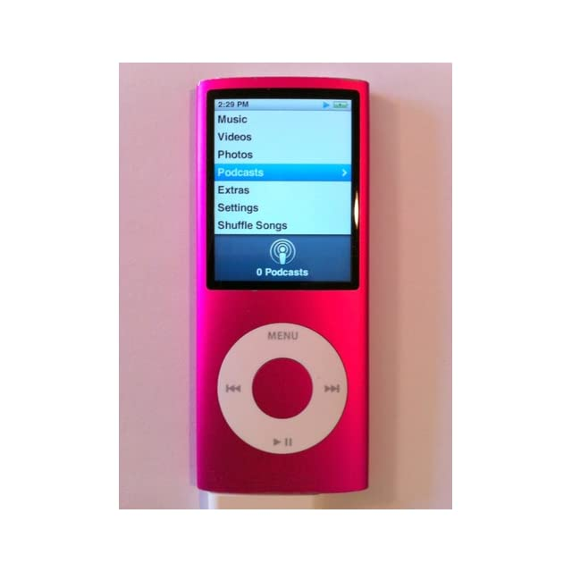 Apple iPod nano 8 GB Pink (4th Generation)  (Discontinued by Manufacturer)
