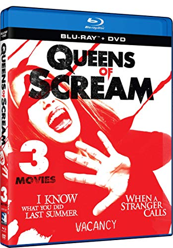Blu-ray : Queens Of Scream: Triple Feature (With DVD, 2 Pack)