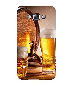 Mental Mind 3D Printed Plastic Back Cover For Samsung Galaxy E5- 3DSAME5-G499