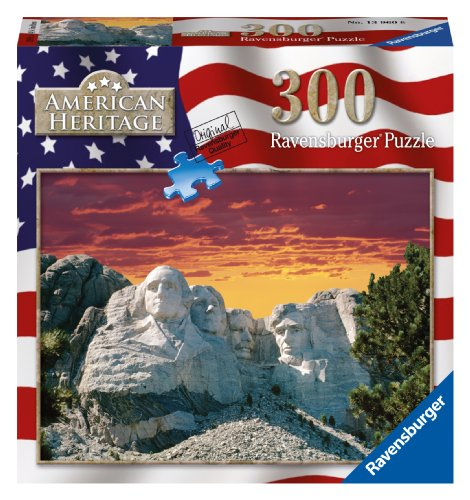 Mount Rushmore Jigsaw Puzzle, 300-Piece - 1