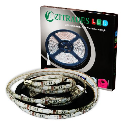 Zitrades Smd 5050 Waterproof Rgb 300 Led 5M Tape Led Flexible Strip 12 Vdc With Rgb Plug Connector By Zitrades