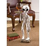 ROSWELL THE ALIEN BUTLER TABLE DESIGN TOSCANO Alien spacemen butler table -MP#GH4498 349Y49HBRG9112237