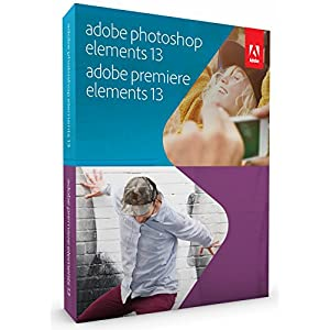Adobe 65234906 Photoshop Elements 13 and Premiere Elements 13 for Mac and Windows DVD