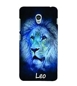 PrintVisa Zodiac Leo 3D Hard Polycarbonate Designer Back Case Cover for Lenovo Vibe P1