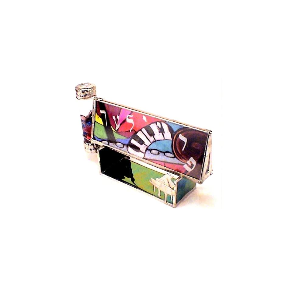 a81dae5f5752 Stained Glass Kaleidoscope Freylech By Joanne Jacobs Stand is Included