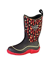 Muck Kid's Hale Outdoor Sport Boot KBH-6ROC Red/Rockets