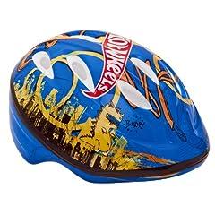 Bell Hot Wheels Trail Blazer Helmet (Blue, Toddler) by Bell