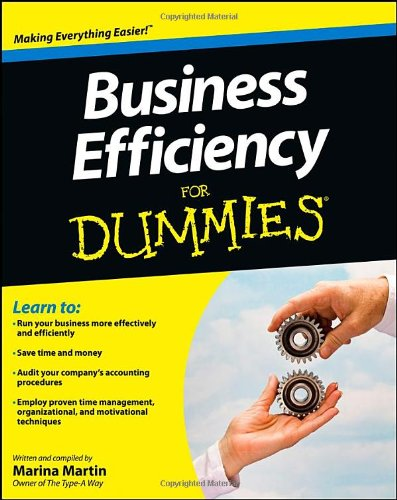 Business Efficiency For Dummies front-1041640