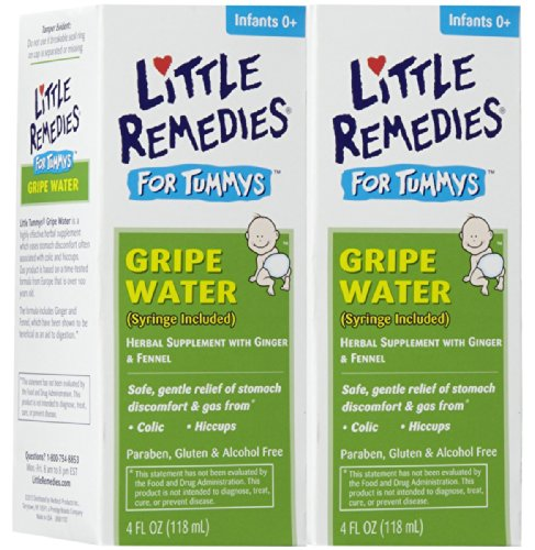 Little Remedies Tummys Gripe Water, 4 Fluid Ounce (2 Pack) (2) - 1