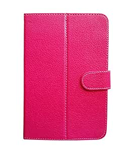 Fastway Flip Cover For Iberry Auxus Core X2 3G -Pink