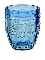 Villa D'Este Set Vaso 6 Uds. Syrah Azul