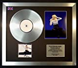 KYLIE MINOGUE/CD PLATINUM DISC & PHOTO DISPLAY/LIMITED EDITION/BODY LANGUAGE
